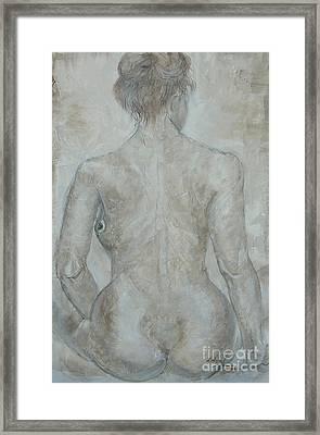 She's The One Framed Print by Delona Seserman