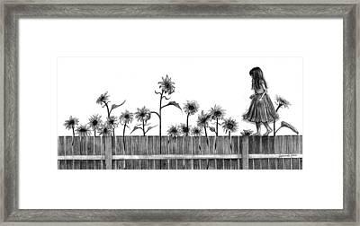 She's Walking On Sunshine Framed Print