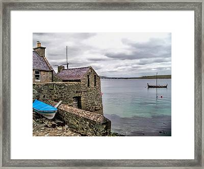 Shetland Lodberry Framed Print by Lynn Bolt