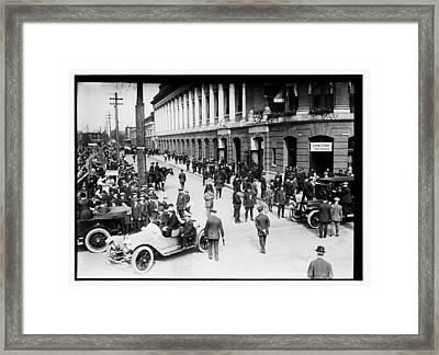 Shibe Park 1914 Framed Print by Bill Cannon