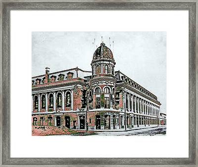 Shibe Park Framed Print by John Madison