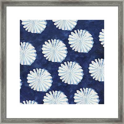 Shibori IIi Framed Print by Elizabeth Medley