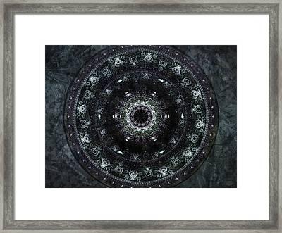 Shield Of Athena Framed Print