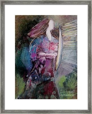 Shield Of Faith Framed Print