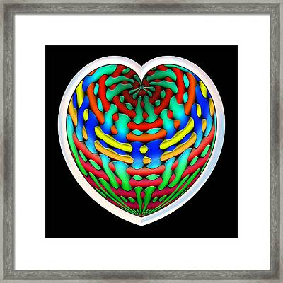 Shielded - Silver Framed Print by Wendy J St Christopher
