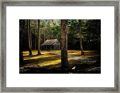 Shields House Framed Print