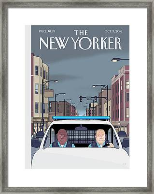 Shift Framed Print by Chris Ware