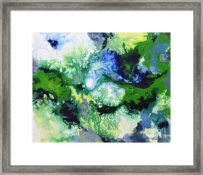 Shift To Grey Framed Print
