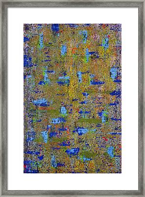 Shifted Angles Framed Print by James Mancini Heath