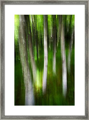 Shifted Perspective Framed Print by Serge Skiba