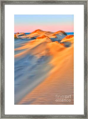 Shifting Sands - A Tranquil Moments Landscape Framed Print by Dan Carmichael