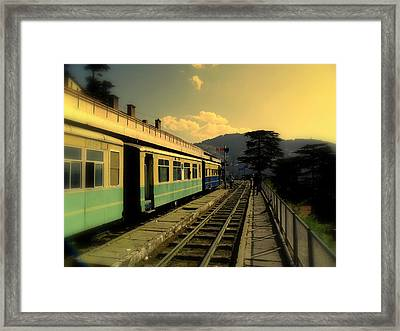 Shimla Railway Station Framed Print