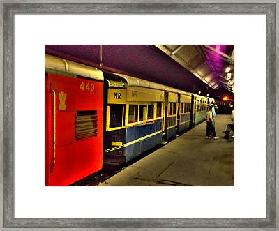 Shimla Toy Train Framed Print by Salman Ravish