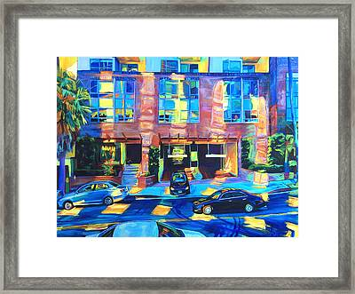 Reflect Framed Print by Bonnie Lambert