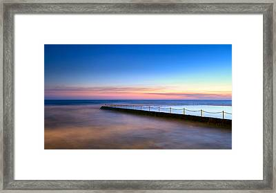 Shimmer In The Dawn Framed Print
