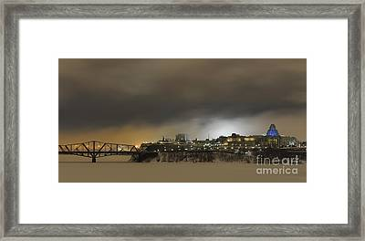 Shimmer Of Pearl.. Framed Print