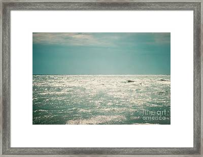 Shimmer Framed Print by Sharon Kalstek-Coty