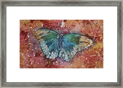 Shimmer Wings Framed Print