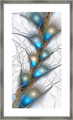 Shimmering Lights Framed Print