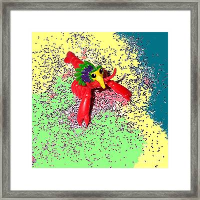 Framed Print featuring the photograph Shimmering Lobster by Joseph Baril