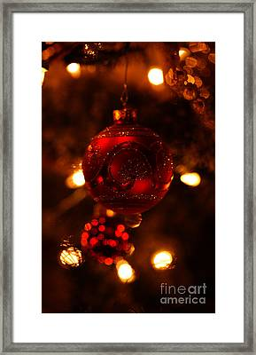 Framed Print featuring the photograph Shimmering Reflection by Linda Shafer