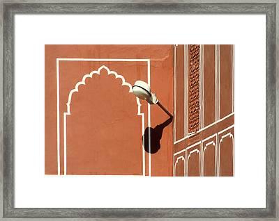 Shine Framed Print by A Rey