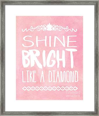 Shine Bright Framed Print by Pati Photography