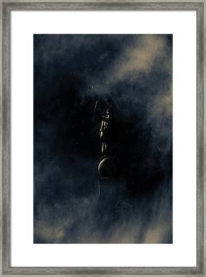 Shine Forth In Darkness Framed Print by Greg Collins