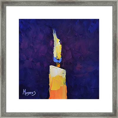 Shine Framed Print by Mike Moyers