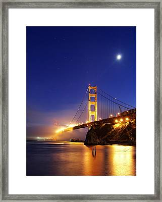 Shine On... Framed Print by Sean Foster