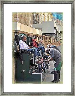 Shine Parlour Framed Print by Tony Ambrosio