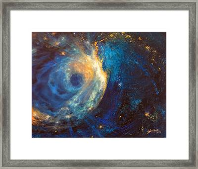 Shines The Nameless Framed Print