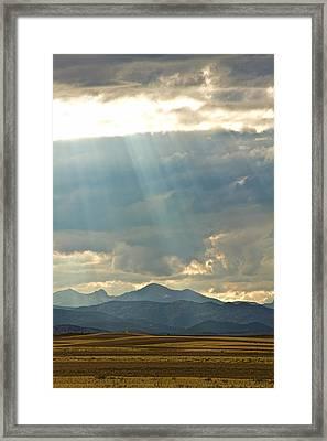 Shining Down Framed Print by James BO  Insogna