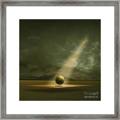 Framed Print featuring the painting Shining by Franziskus Pfleghart