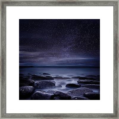 Shining In Darkness Framed Print