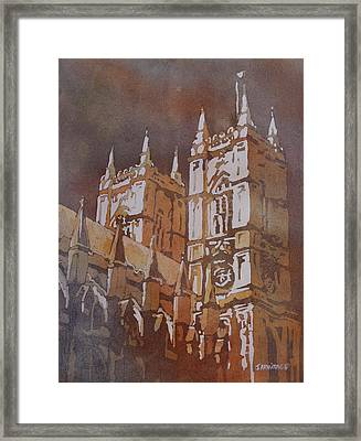 Shining Out Of The Rain Framed Print by Jenny Armitage