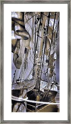 Framed Print featuring the photograph Shining Sea by Robert McCubbin