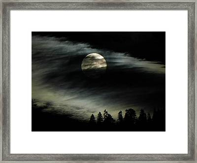 Shining Through Framed Print by Leah Moore