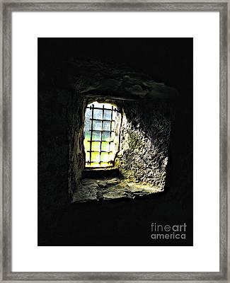 Shining Through Framed Print by Louise Peardon