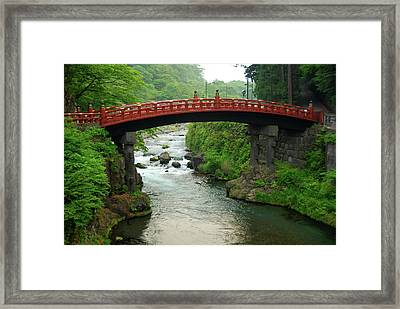 Shinkyo In Nikko Framed Print