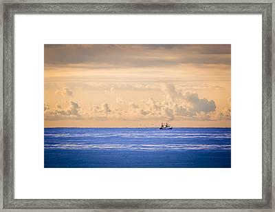 Captain's Catch Framed Print