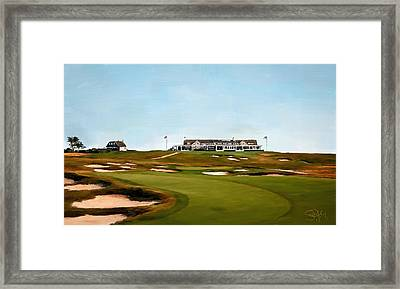 Shinnecock Hills Golf Club Framed Print