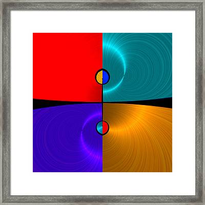 Shiny 1 - For Metallic Paper Framed Print by Wendy J St Christopher