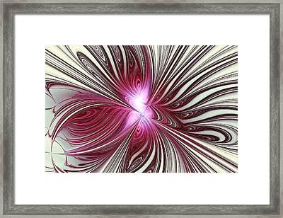 Shiny Framed Print by Anastasiya Malakhova