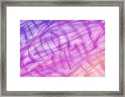 Shiny Background Framed Print by Krasimira Nevenova
