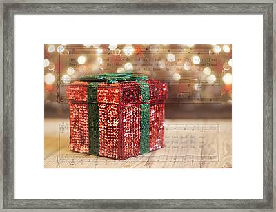 Shiny Little Present Framed Print