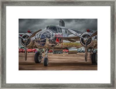 Shiny Mitchell Framed Print