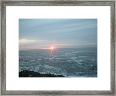 Shiny Star Framed Print