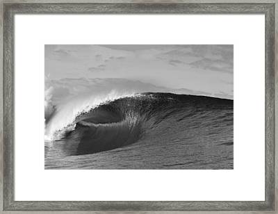 Shiny Tunnel Framed Print by Sean Davey