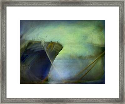 Ship #3 Framed Print by Alfredo Gonzalez